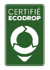 certification respect normes environnementales ecodrop