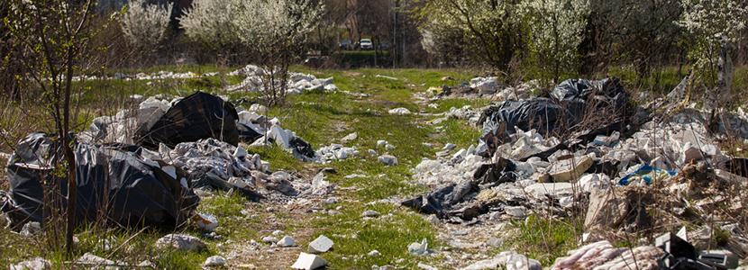 defi lutte contre les déchets sauvages du Batiment