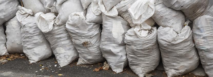 Enlèvement déchets, collecte sur chantier
