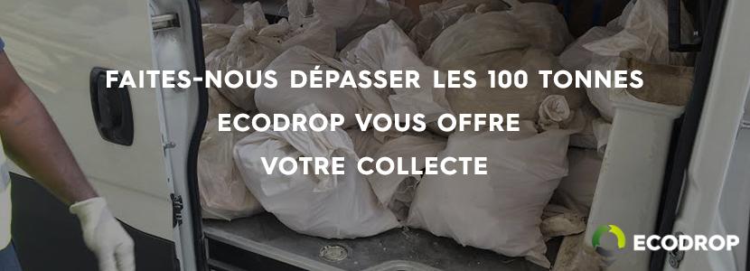 Offre collecte sur chantier Ecodrop