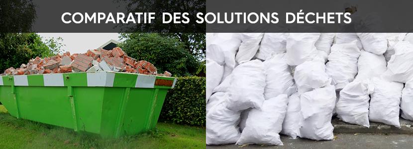 Comparatif solution déchets