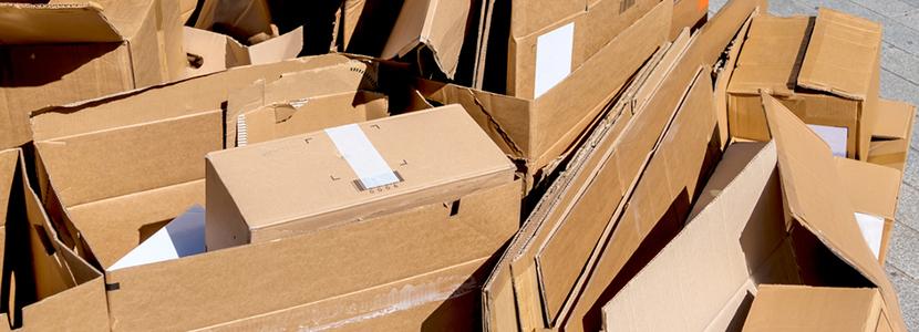 collecte cartons et emballages