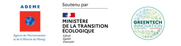 Par L'ADEME, le Ministère de la Transition Écologique et la GreenTech Innovation